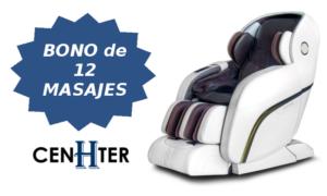 Bono de 12 masajes para el sillon 4D